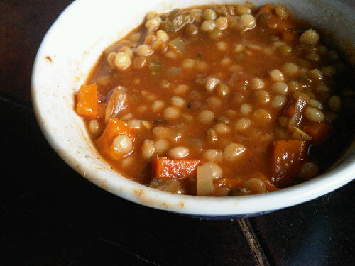 Another good looking soup from txkimmers @Flickr. Mine looked quite similar :)